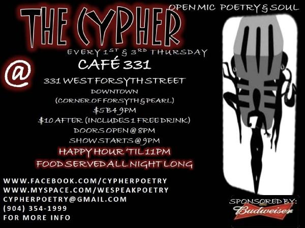The Cypher - every 1st and 3rd  Thursday